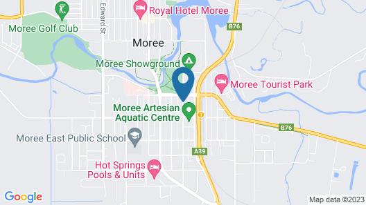 Spa Village Travel Inn Map