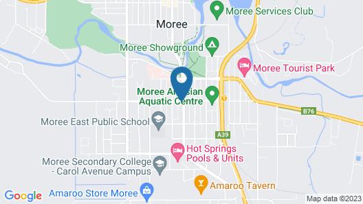 Winchester Motel Map