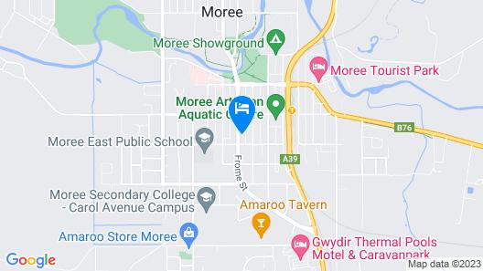 Jackaroo Apartments Map