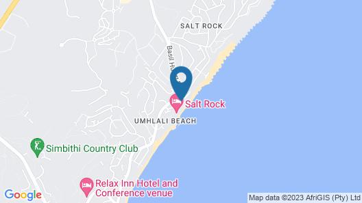 Canelands Beach Club Map