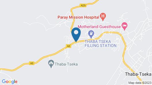 Mohale Oa Masite Hotel Map