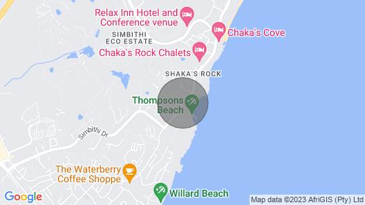 Serene Beach Break Away Opp Beachwifidstvac Map