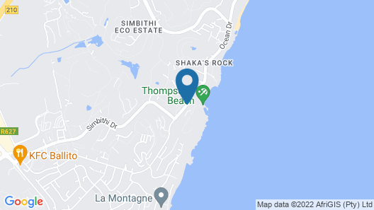 Beachfront Holiday Home Map