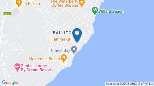 Coco De Mer Boutique Hotel Map