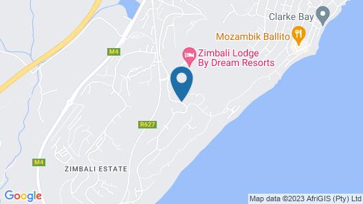 Zimbali beach estate Map