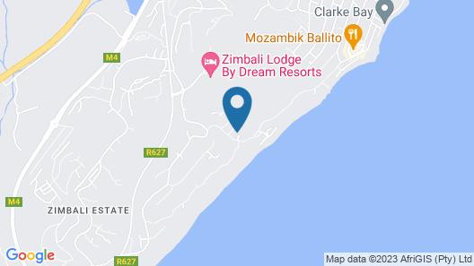 Zimbali by Euphoric, Zimbali Coastal Resort, Ballito Map