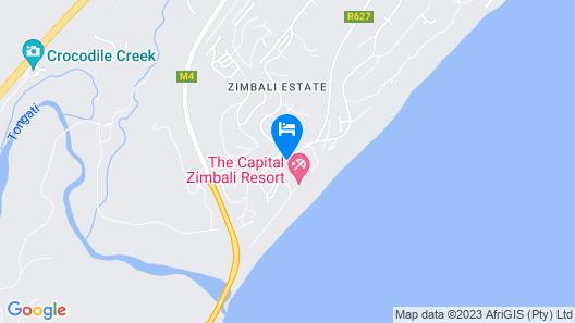 Zimbali suites Map