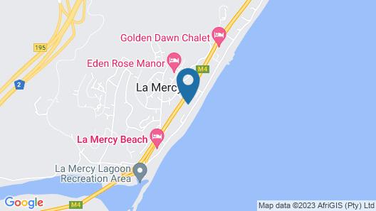 6 Dolphin Views - Near Umdloti Beach Map