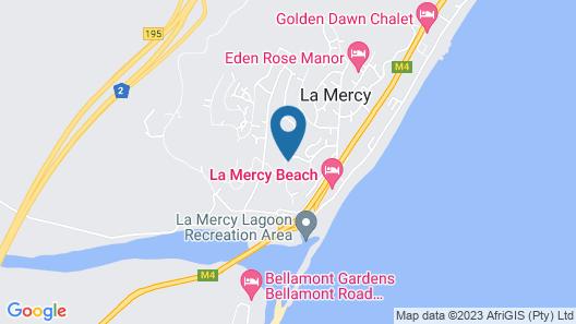 Villa La Mercy Chalet Map
