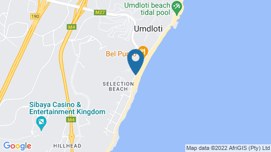 Surf Motel (formally Umdloti Milkwood) Map