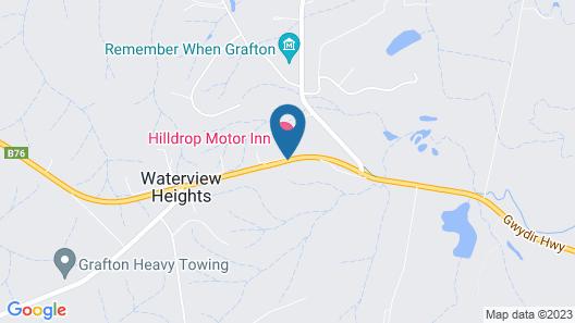 Hilldrop Motor Inn Map