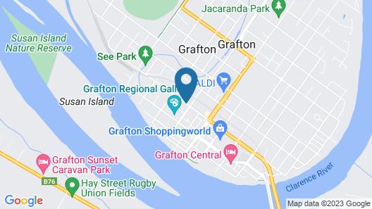 Civic Motel Map