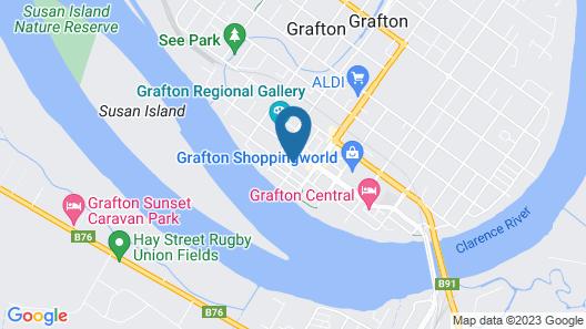 Victoria Street Apartments Map