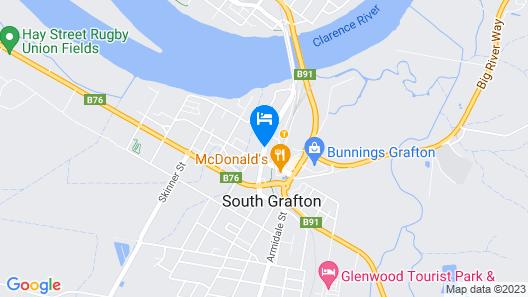 Bent Street Motor Inn Map