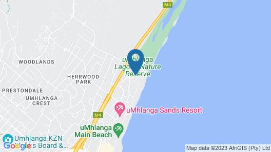 Breakers Resort 414 Map