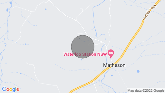 Waterloo Station Schoolhouse Map