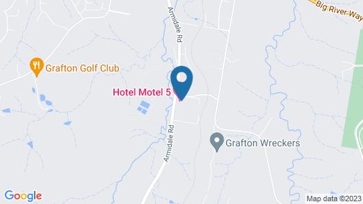 Hotel Motel 5 Map