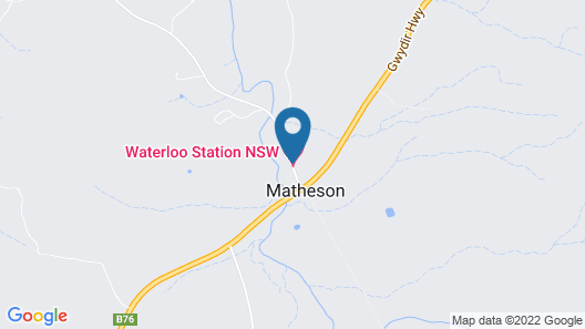 Waterloo Country Accommodation Map