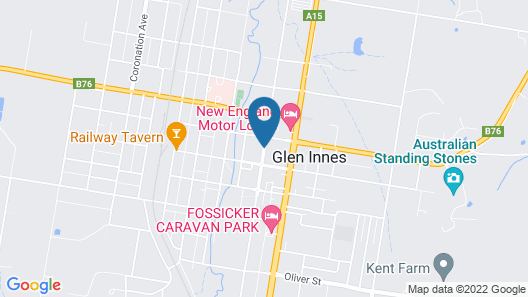 The Bank Guest House Glen Innes Map