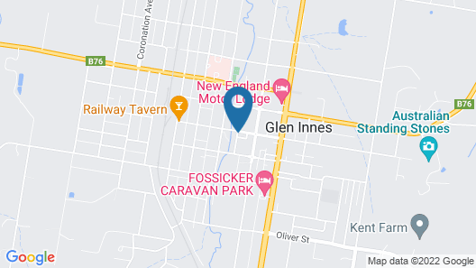 Apartments On The Park Glen Innes Map