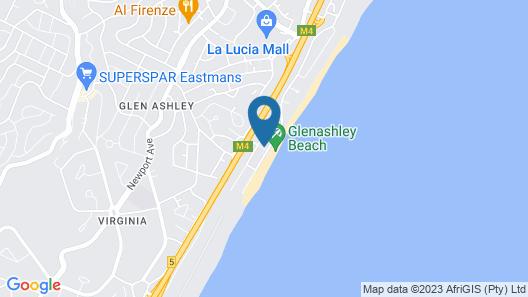Bentley On The Beach Map
