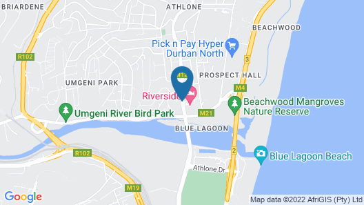 The Riverside Hotel Map