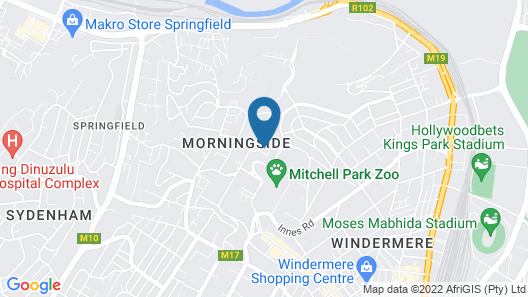 Emakhosini Boutique Hotel and Conference Centre Map