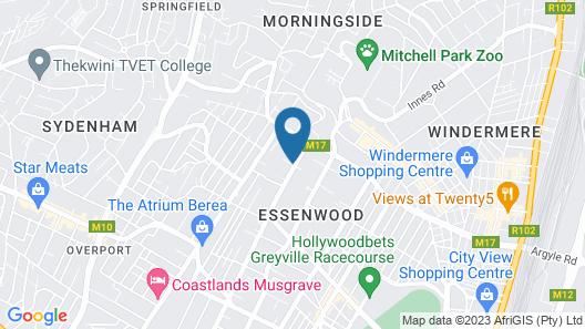 Essenwood House Map