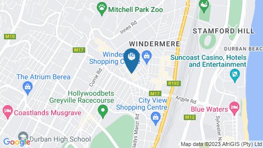 The Benjamin ApartHotel Map