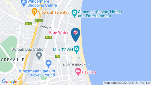 Belaire Suites Map
