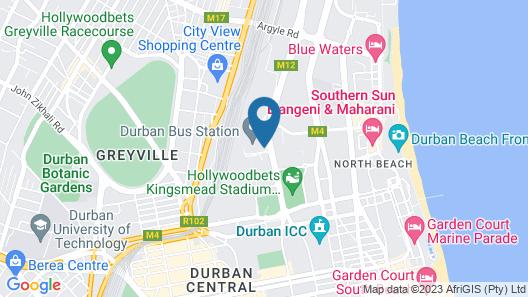 SUN1 Durban Map