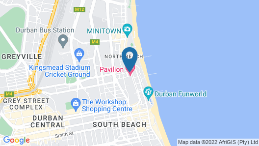 Pavilion Hotel Map