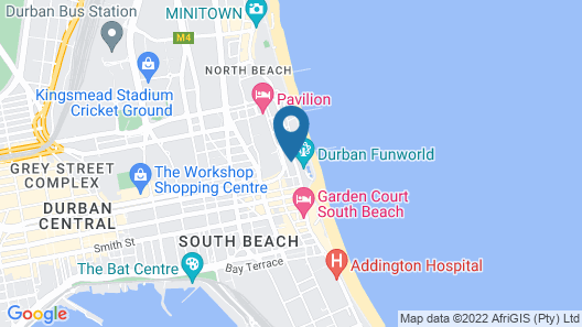 Madison Avenue Beach View Apartments Map