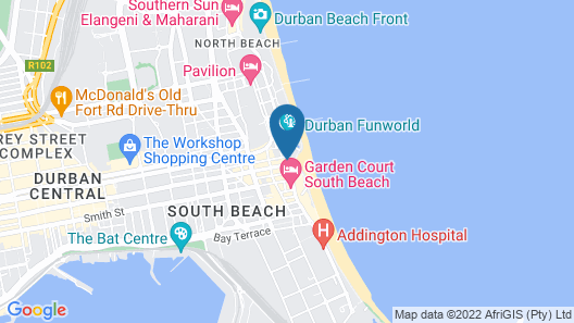 Gooderson Beach Hotel Map