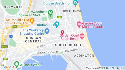 Curiocity Durban - Hostel Map