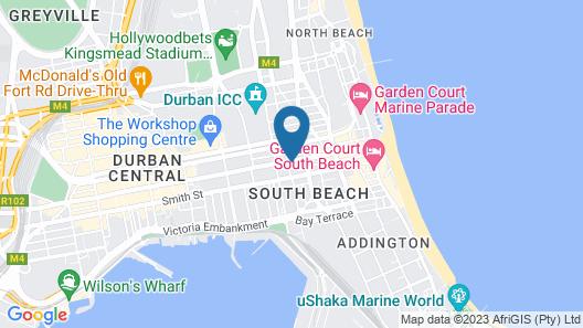 Serena Hotel Map