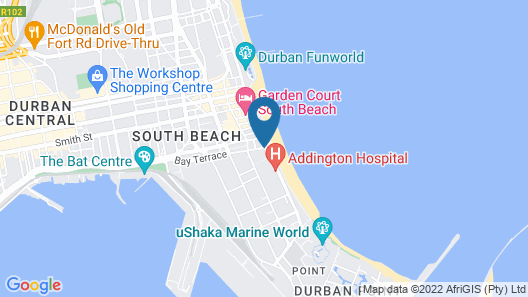 Gooderson Tropicana Hotel Map