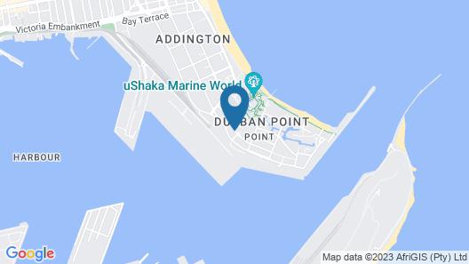 Beach Port Lodge Map