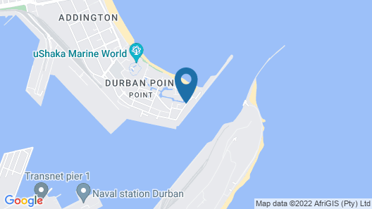 Point Waterfront Apartments Map