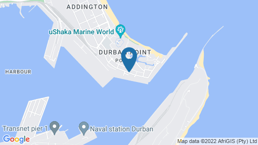 The Waterfront hotel & spa by Misty blue hotels Map