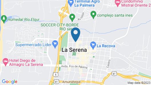 Hotel Cristóbal Colón Map