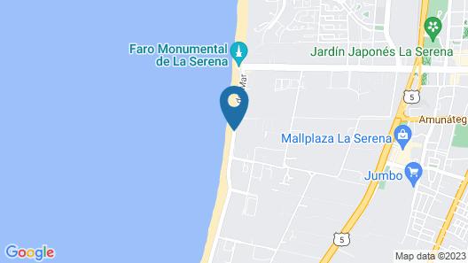 Hotel Club La Serena Map