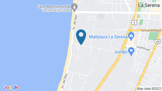 Hotel Playa Campanario Map