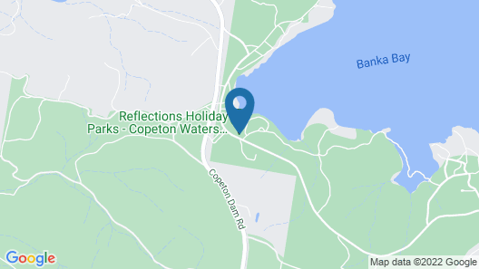 Reflections Holiday Parks Copeton Waters Map