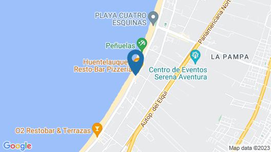 Cabañas Campanario Map