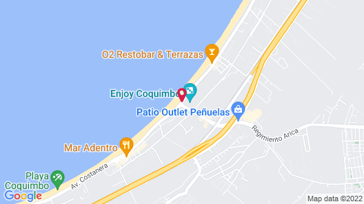 Enjoy Coquimbo Map