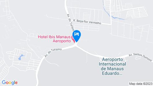 ibis Manaus Aeroporto Map