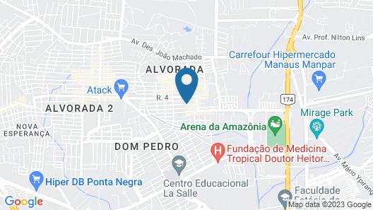 Alvorada Suíte Map