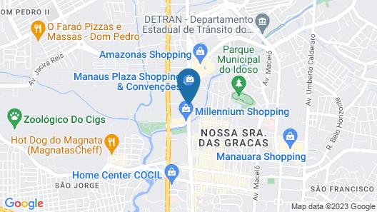 ibis budget Manaus Map
