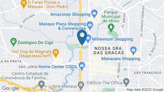 Manaus Hotéis - Millennium Map